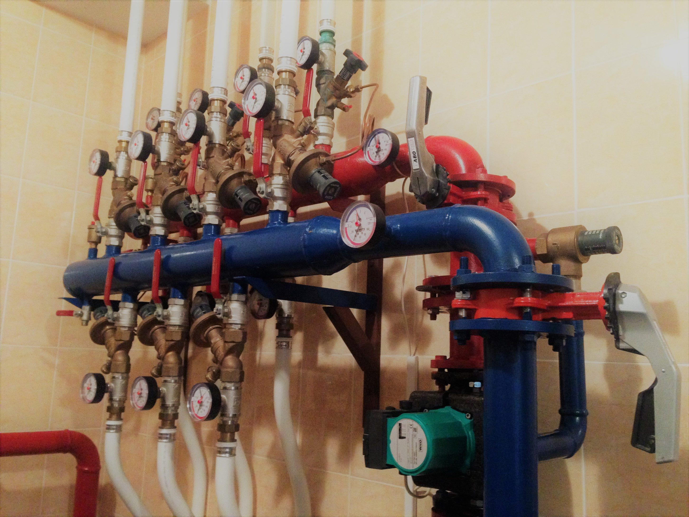 Отопление частного дома - Systems Engineering - топочная