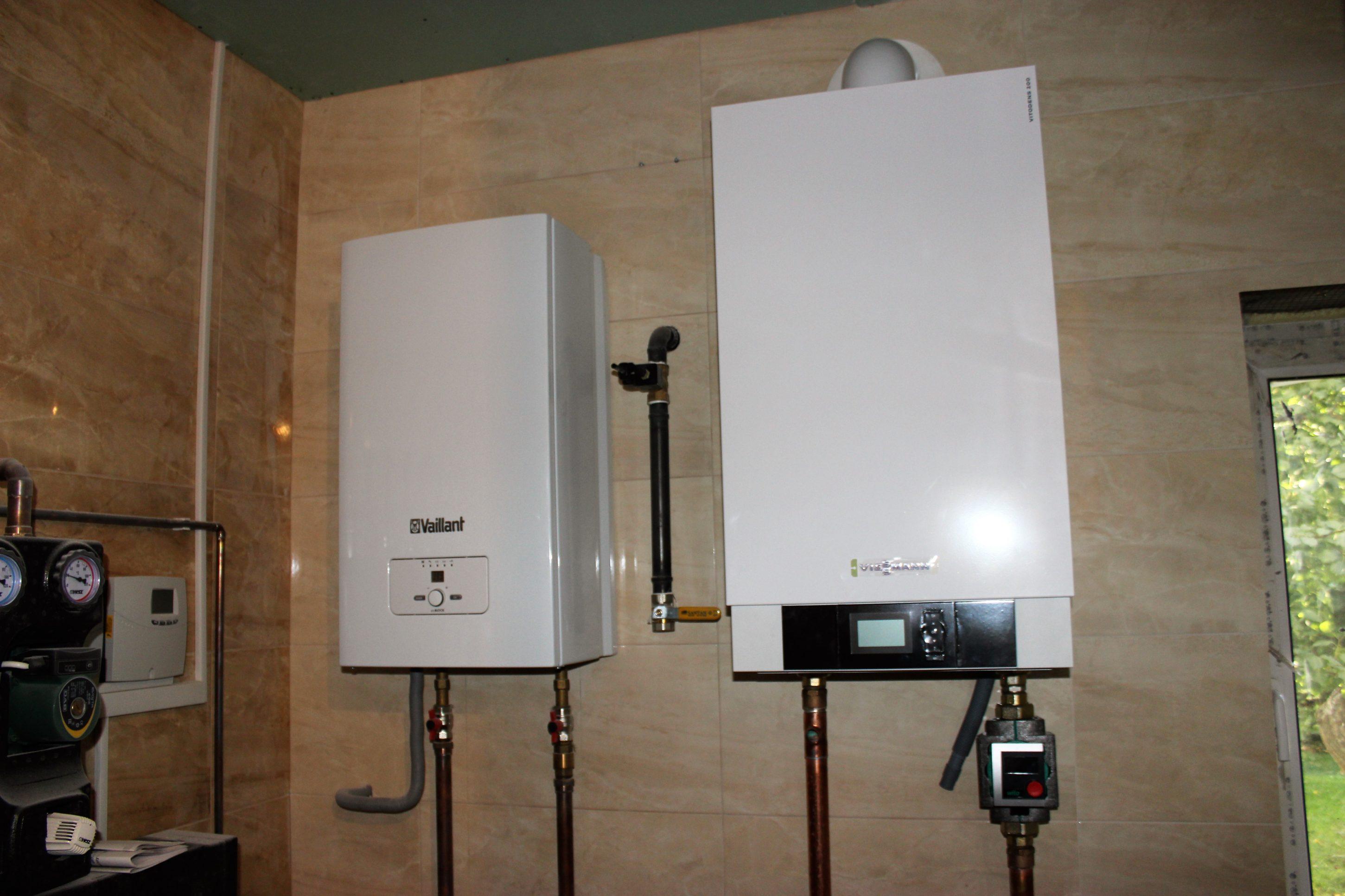 Отопление частного дома в Киевской области - Systems Engineering - котлы