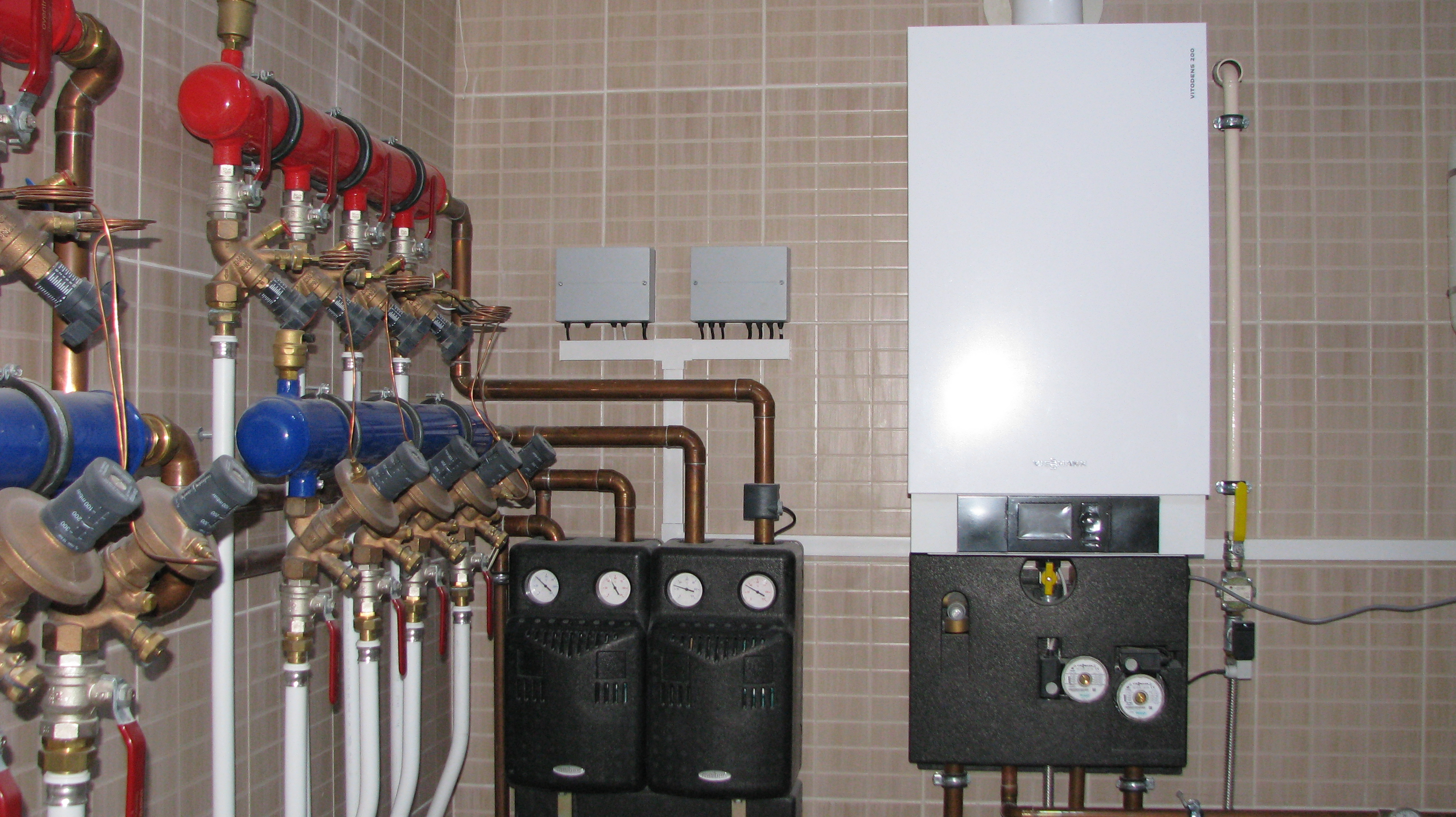 Отопление частного дома под ключ - systems - engineering - photo