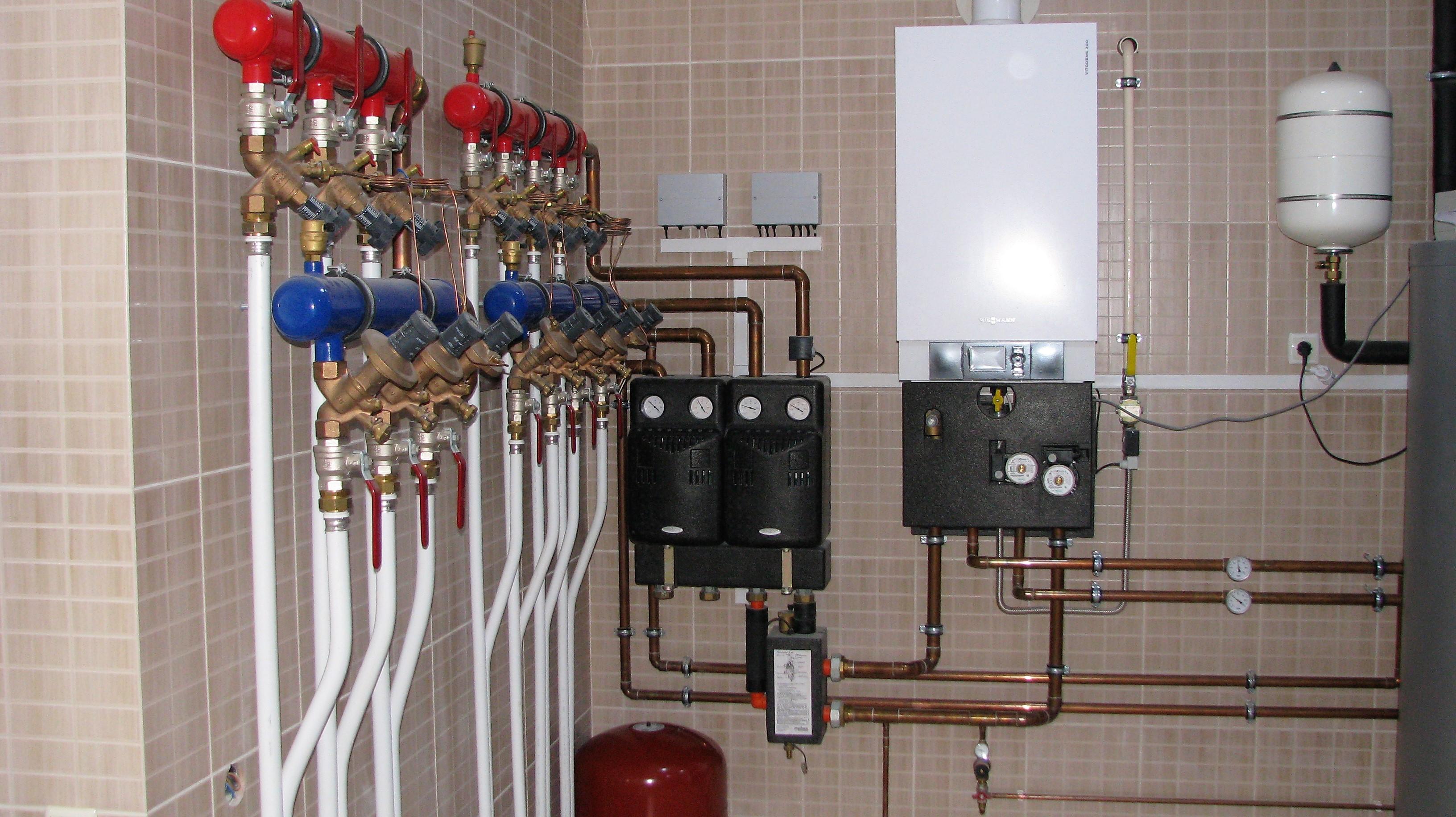 Отопление частного дома в Киеве - sуstems engineering — photo 1
