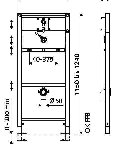 SCHELL Urinal-Modul MONTUS (03 075 00 99) - Systems Engineering (2)