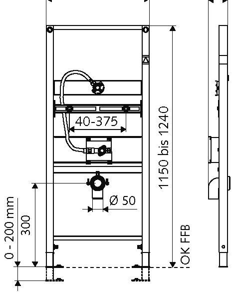 SCHELL Urinal-Modul MONTUS (03 089 00 99) - Systems Engineering (2)