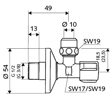 SCHELL Eckregulierventil COMFORT (04 907 06 99) - Systems Engineering - 2