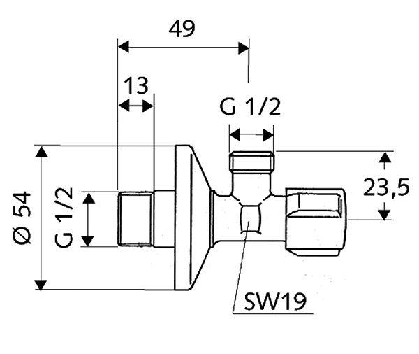 SCHELL Eckregulierventil COMFORT (05 217 06 99) - Systems Engineering - 2